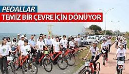 Çevreci Pedallar Samsun'da Dönüyor