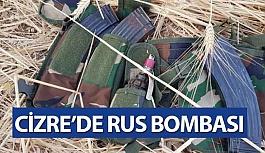 Cizre'de Yapılan Aramalarda 2 Adet Rus Yapımı El Bombası Ele Bulundu