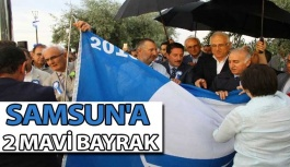 Samsun'a 2 Mavi Bayrak