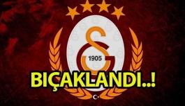 Galatasaraylı milli sporcu bıçaklandı