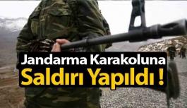 Jandarma Karakoluna Ateş Açıldı