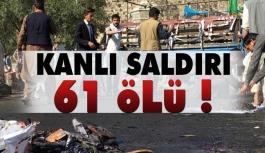 Kanlı Saldırıda Ölü Sayısı 61