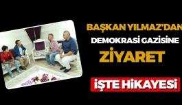 Başkan Osman Genç'ten Demokrasi Gazisine ziyaret
