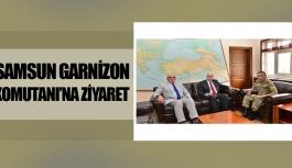 Başkan Yılmaz ve Vali Şahin'den Garnizona ziyaret