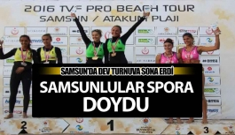 TVF 2016 Pro Beach Tour Samsun şampiyonları belli oldu