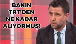 Hakan Şükür Bakın TRT'den Ne Kadar Alıyormuş!