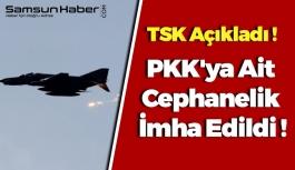 PKK'ya Ait Cephanelik İmha Edildi