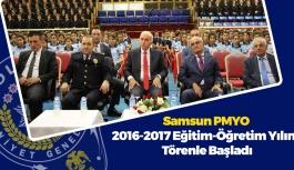 Samsun PMYO 2016-2017 Eğitim-Öğretim Yılı Törenle Başladı