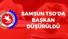 Samsun TSO'da Başkan Düşürüldü