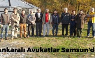 Ankaralı Avukatlar Samsun'da