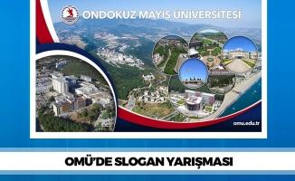 OMÜ'de Slogan Yarışması