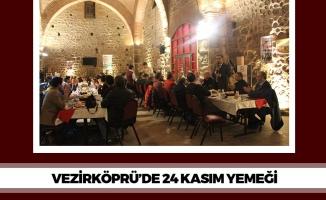 Vezirköprü'de 24 Kasım Yemeği