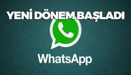 WhatsApp'tan Müthiş Yenilik