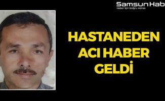 Samsun'da Kaza Yapan Sürücü Kurtarılamadı