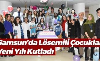 Samsun'da Lösemili Çocuklar İçin Yeni Yıl Partisi