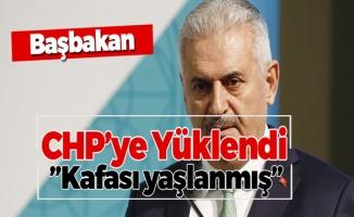 Başbakan CHP'ye Yüklendi