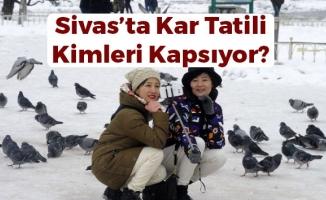 Sivas'ta Engelli ve Hamile Kamu Çalışanına Kar Tatili