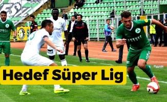 Giresunspor'un  Hedefi Karadeniz'den Süper Lig'i Temsil Eden 3. Takım Olmak