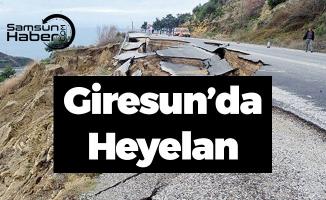 Karadeniz'de Heyelan