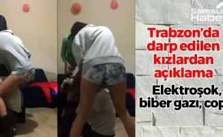 Trabzon'da Darp Edilen Kızlar Konuştu