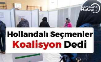 Hollanda'da Seçim Bitti! Sonuç Koalisyon