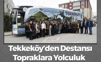 Samsun'da Destan Yazılan Topraklara Yolculuk