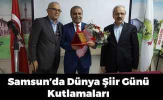 Samsun'da Dünya Şiir Günü Kutlamaları