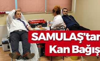 SAMULAŞ'tan Kan Bağışı