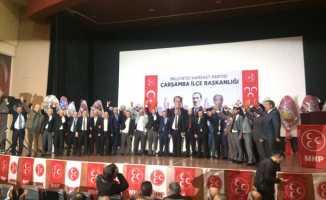 MHP Çarşamba Kongresi yapıldı