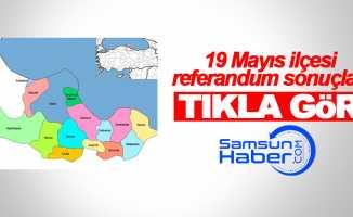 Samsun 19 Mayıs ilçesi referandum sonuçları
