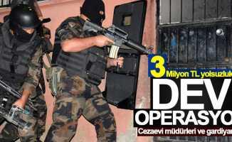 Samsun'da 3 milyon TL'lik yolsuzluk operasyonu: 30 gözaltı