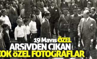 Atatürk ile ilgili 19 Mayıs'a özel fotoğraflar