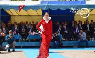 Bafra'da çeltik ekim günleri çerçevesinde etkinlik yapıldı
