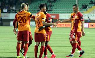 Galatasaray Alanyaspor'u 3-2 mağlup etti
