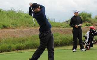 Samsun'da golf turnuvası