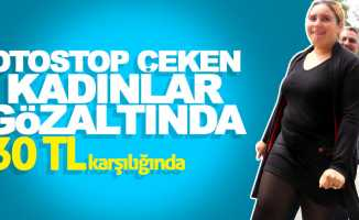 Samsun'da otostop çeken kadınlara gözaltı