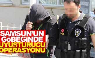 Samsun'un göbeğinde uyuşturucu operasyonu: 2 kişi gözaltında
