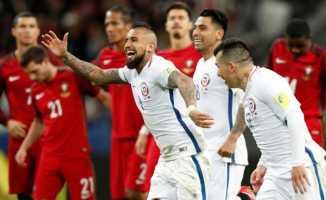 FIFA Konfederasyon Kupası'nda ilk finalist Şili