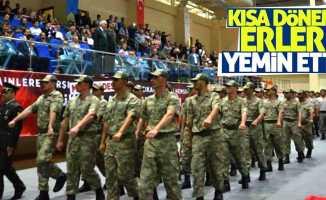Samsun'da kısa dönem askerler yemin etti