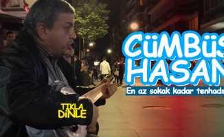 Samsun'un sokak sanatçısı Cümbüş Hasan