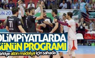 28 Temmuz cuma olimpiyat programı! Türkiye altın madalya için sahada