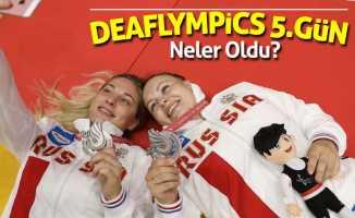 Deaflympics'de 5.gün