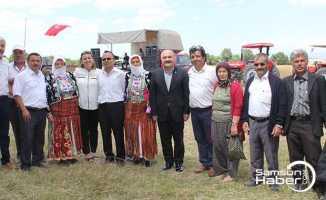 Havza'da Çiğdemtepe festivali yapıldı