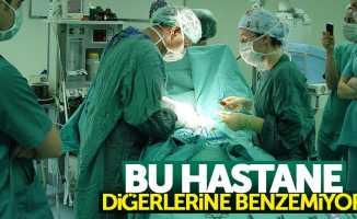 Samsun'da bu hastane ameliyat olana sertifika veriyor