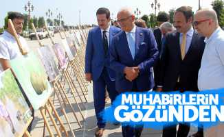 Samsun'da muhabirlerin çektiği fotoğraflardan sergi açıldı