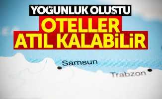 Samsun'da oteller atıl kalabilir