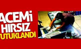 Samsun'daki acemi hırsız tutuklandı