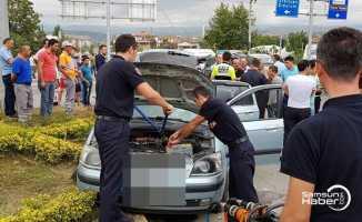 Tokat'ta kaza: 10 yaralı