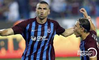 Trabzon'da artık Burak Yılmaz var