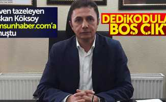AK Parti Atakum ilçe başkanı seçilen Köksoy, Samsunhaber.com'a konuştu
